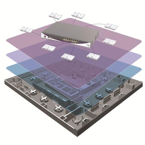 монтаж Wi-Fi на производстве, складе